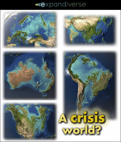 When we reach the Age of Crisis, how will our Digital Earth outperform the crises?
