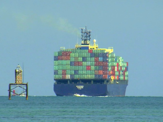 Supply Chain Container Ship