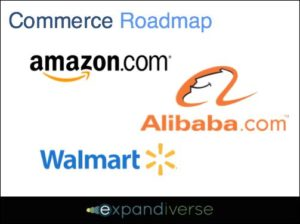 How could Amazon, Walmart or Alibaba lead the world?