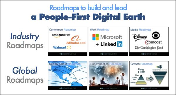 Expandiverse Roadmaps to build a People-First Digital Earth