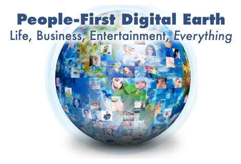 To see the people-first Digital Earth, start here